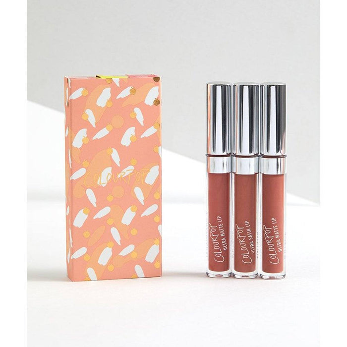 Colourpop Just Peachy Lip Bundle - Klosmic India