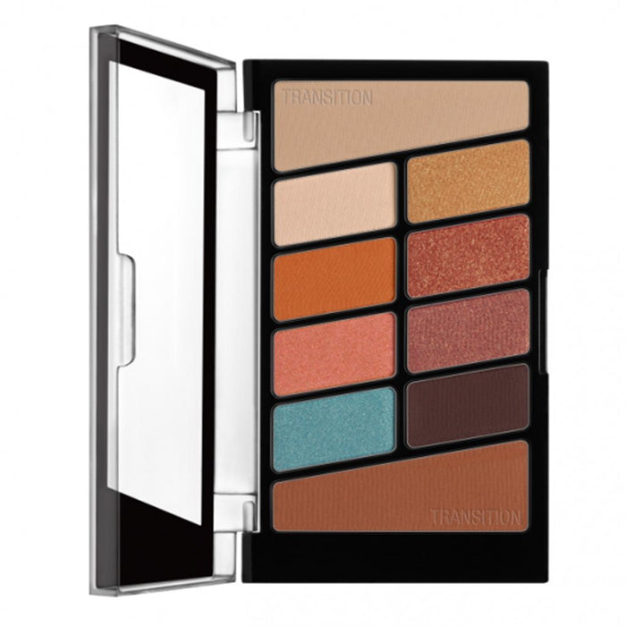 Wet n Wild Color Icon Eyeshadow 10 Pan Palette - Not a Basic Peach - Klosmic