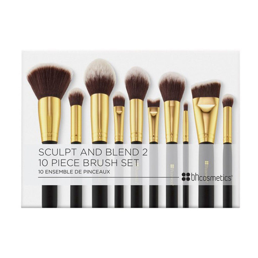 Bh Cosmetics Sculpt and Blend 2 - 10 Piece Brush Set