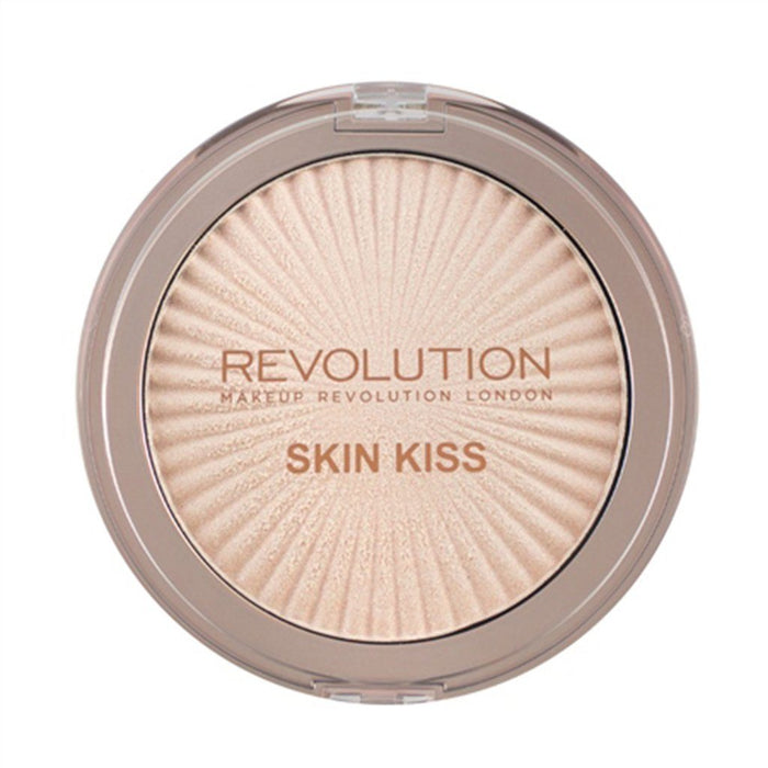 Makeup Revolution Skin Kiss Highlighter - Champagne Kiss - Klosmic India