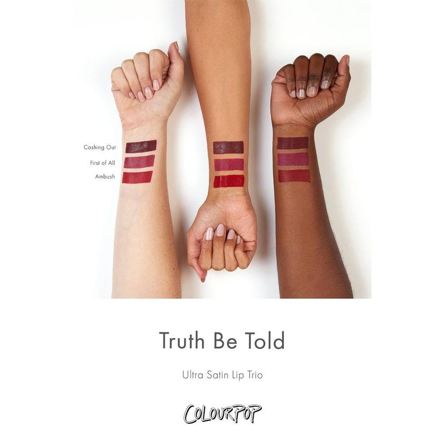 Colourpop Truth Be Told Lip Bundle