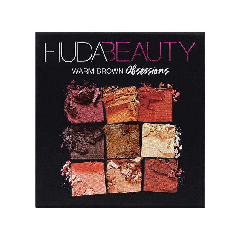Huda Beauty Warm Brown Obsessions Palette | Klosmic India