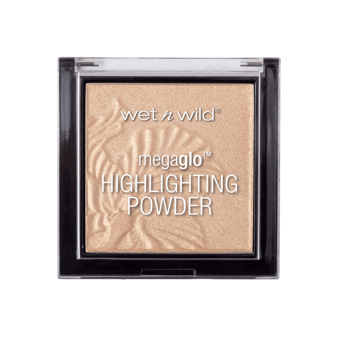 Wet n Wild MegaGlo Highlighting Powder| Golden Flower Crown - Klosmic