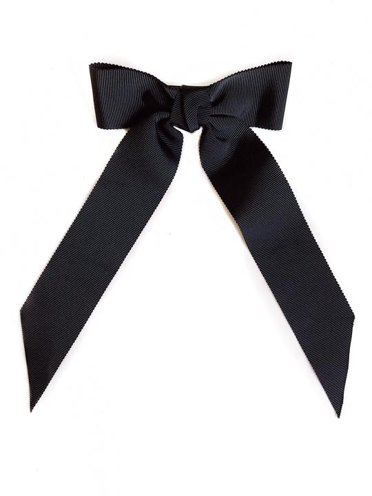 Nini Bow Grande Black