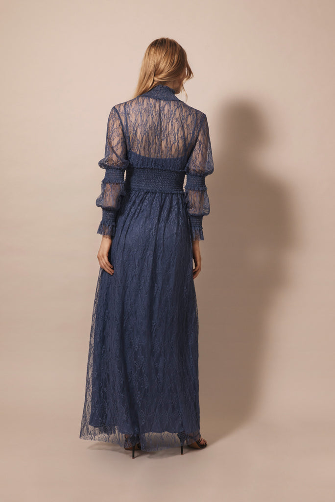 Silvie Dress Indigo Blue