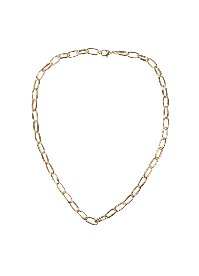 Large Chain Necklace 43 cm