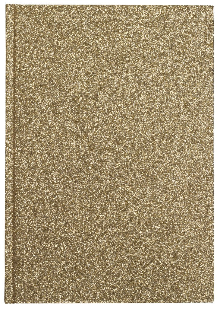 Glitter Notebook A5 Gold
