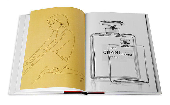 Chanel 3-book Slipcase Coffee Table Book