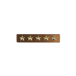You added <b><u>Star Stud Hair Clip Cognac</u></b> to your cart.