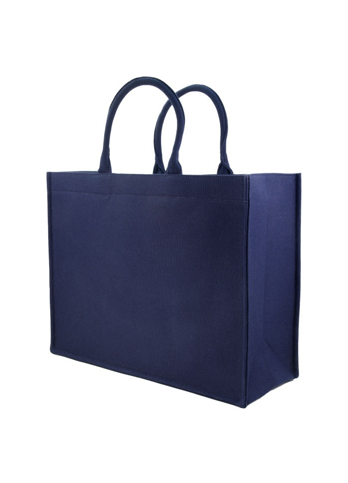 Tote Bag Canvas Navy