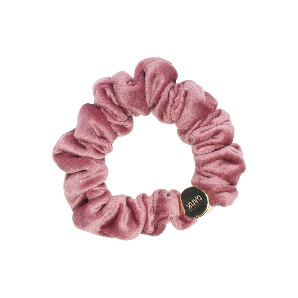 Velvet Mini Scrunchie Dusty Rose