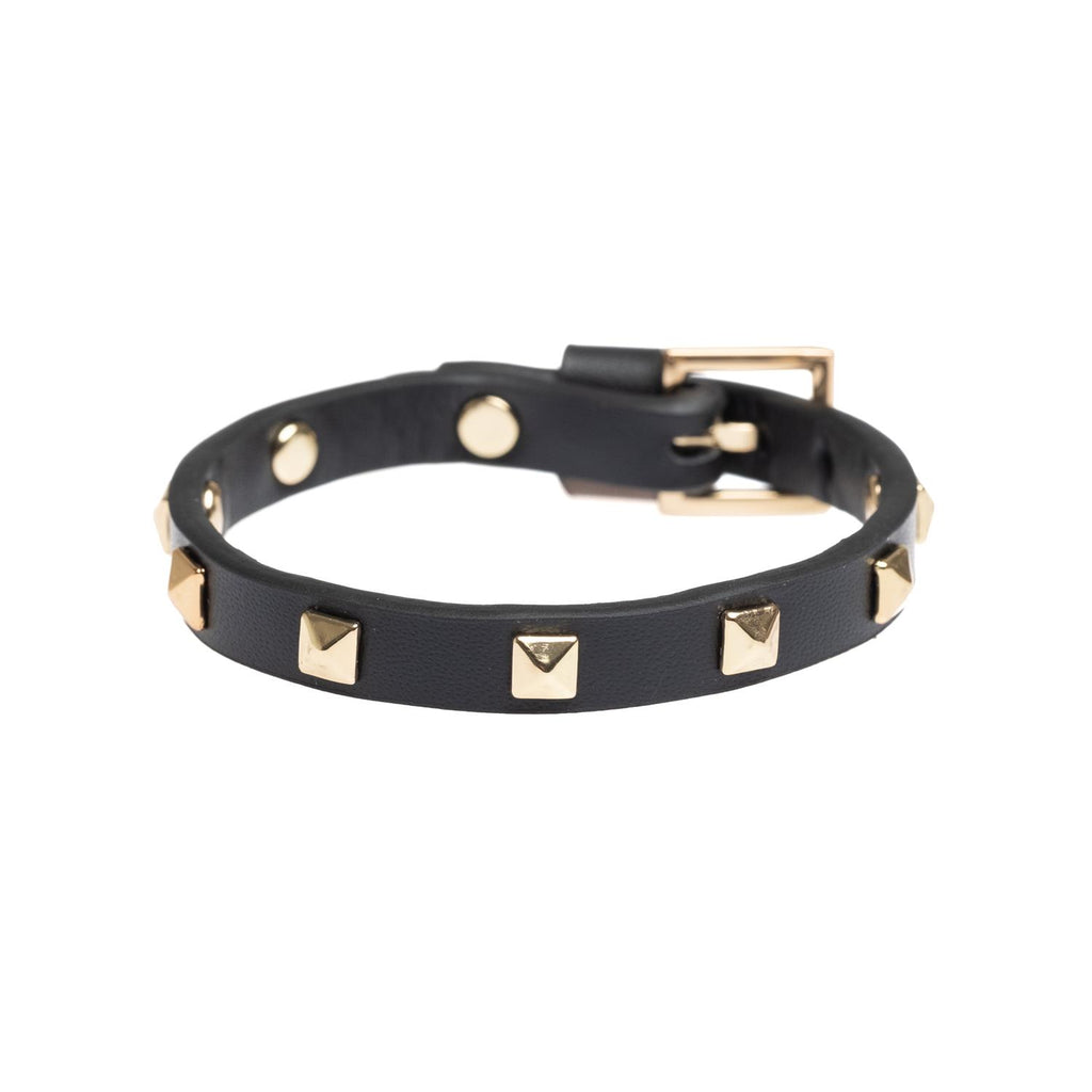 Stud Mini Bracelet Black