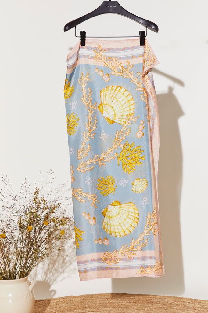 Silk Scarf Romantic Breeze