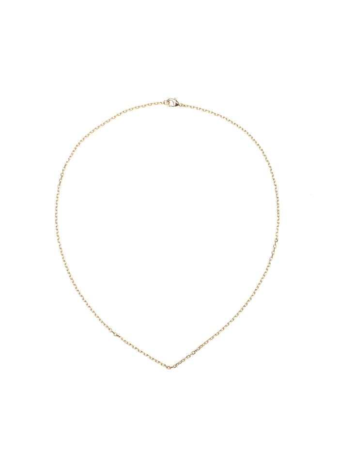 Gold Necklace 50 cm