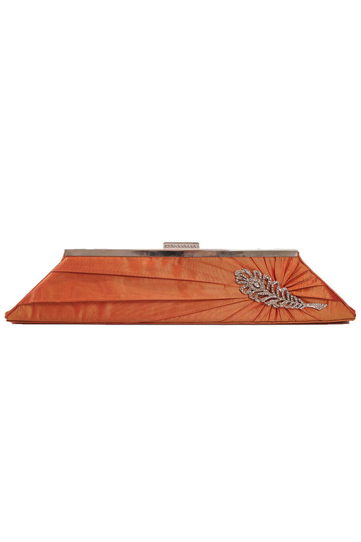 Inge Christopher, Framed Clutch, Orange