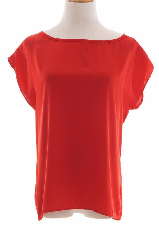 Mango Casual, Sleeveless Blouse, XXS, Red