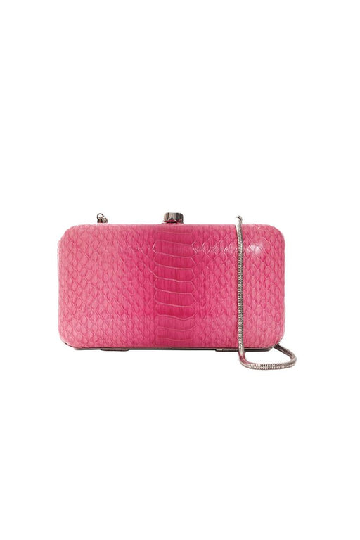 New, Oroton Textured Mini Clutch, Pink