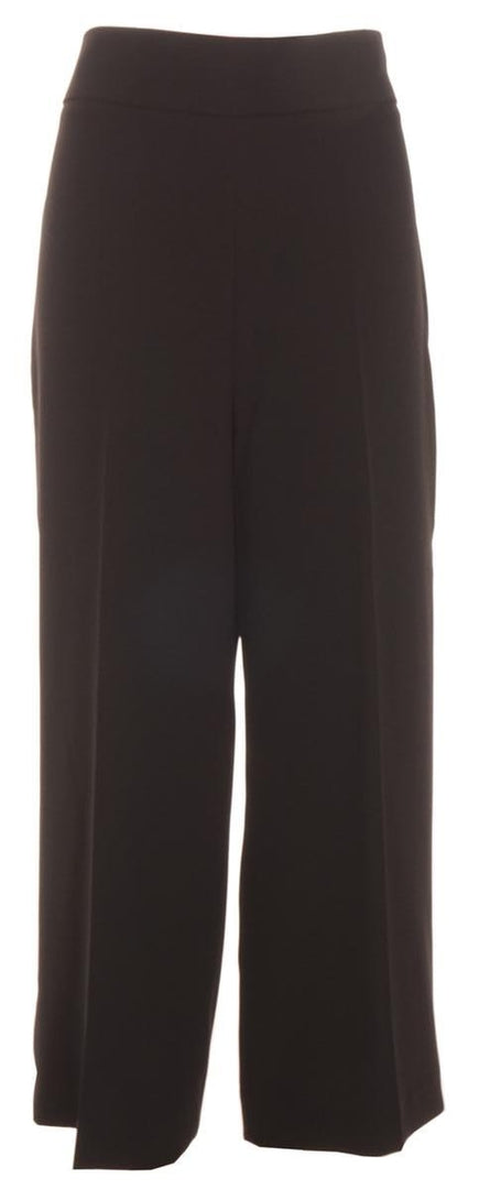 Zara Woman, Wide Leg Pants, L, Black