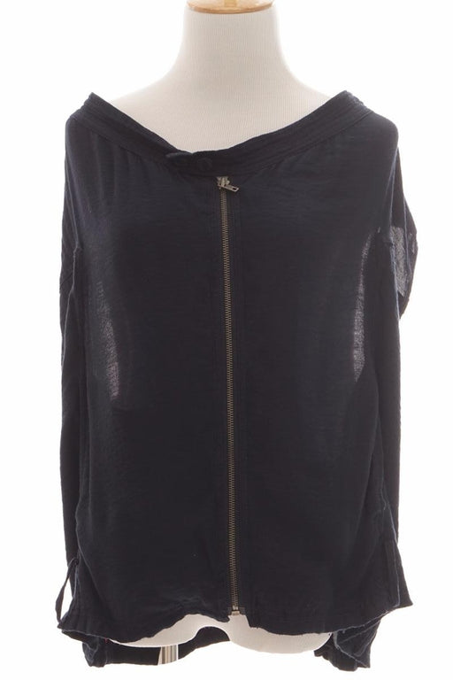 DKNY Jeans, Sleeveless Outer, S Size, Dark Blue