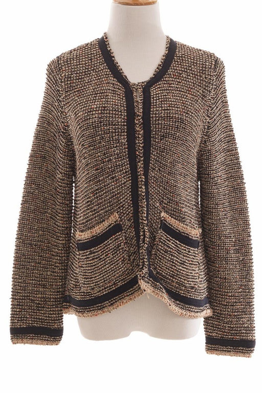 Topshop, Knitted Outer, M, Brown