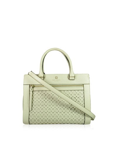 PRE-OWNED: KATE SPADE New York White 'Milton Lane - Maise'