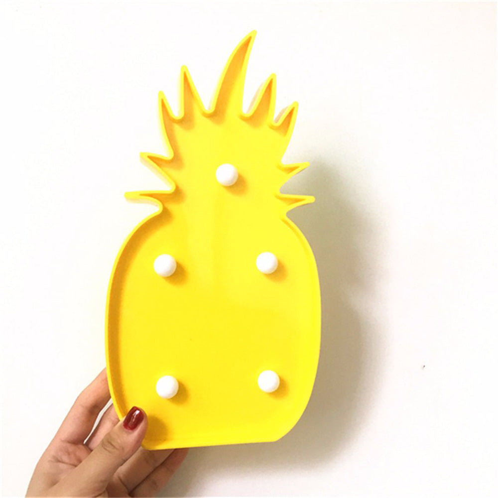 Pineapple Shaped LED Night Light Battery Operated