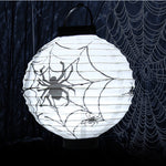 Halloween Decoration LED Paper Lantern Lamp