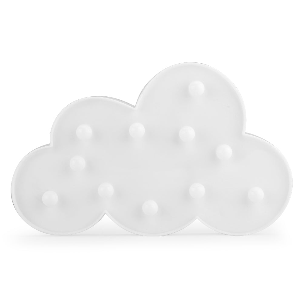 Cloud Shaped LED Night Light Battery Operated, Shape