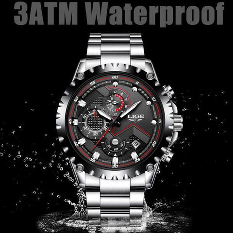 Lifestyle Business Waterproof Watch - lifestyleestore.com