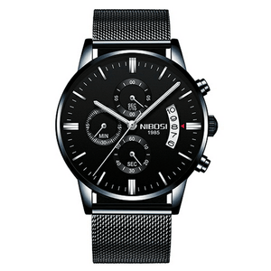 Lifestyle Military Quartz Watch - lifestyleestore.com
