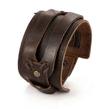 Lifestyle Wide Leather Bracelet - lifestyleestore.com