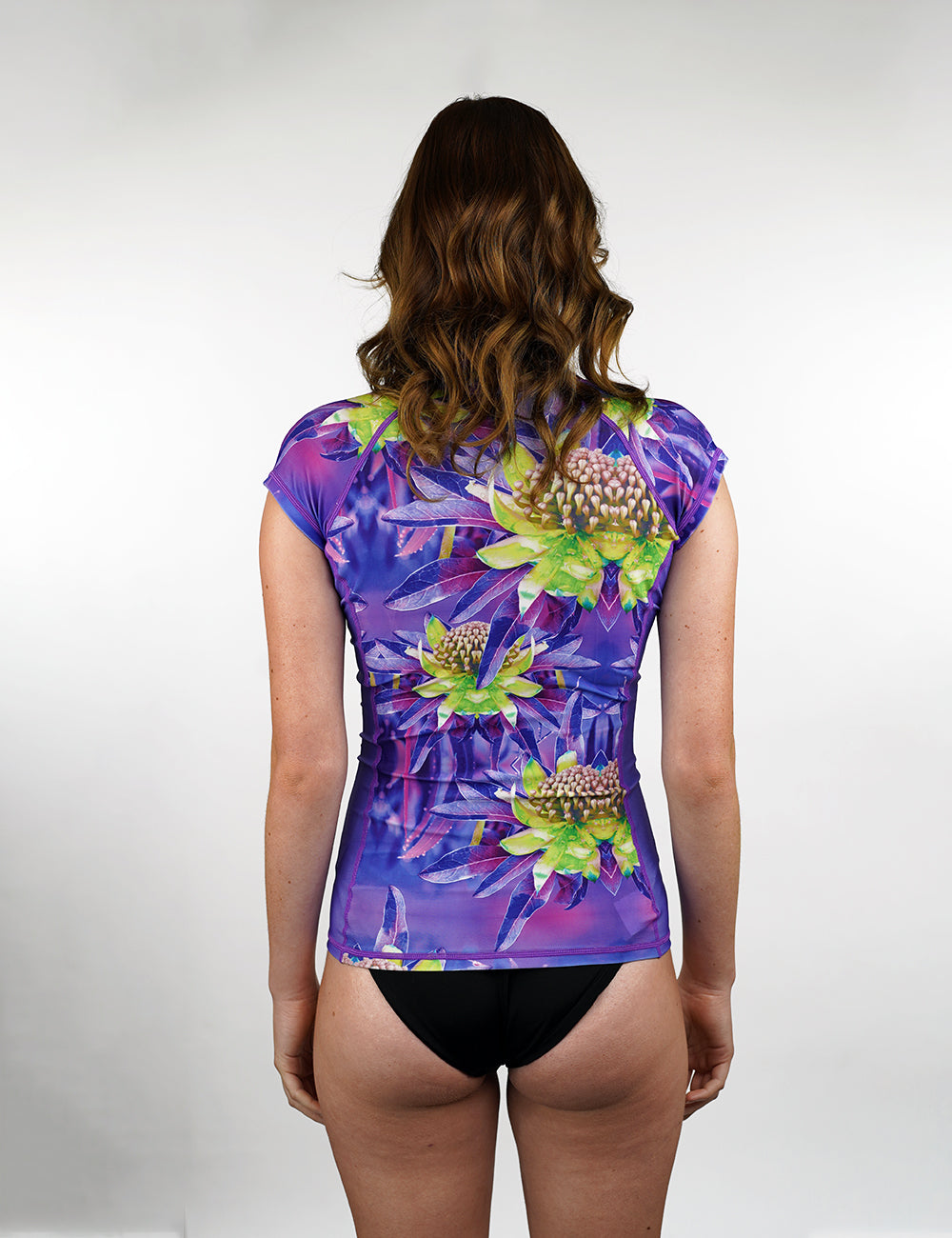 Cap Sleeve Rash Vest | Allure