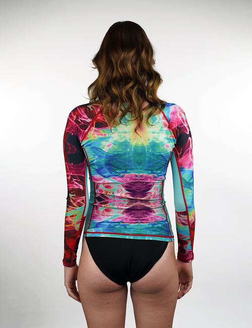 Long Sleeve Rash Vest | Hellcat