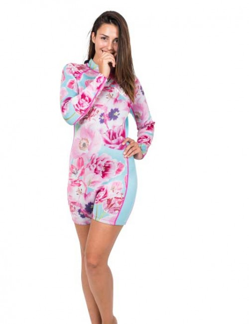 Long Sleeve Flatlock Spring Suit | Luxe