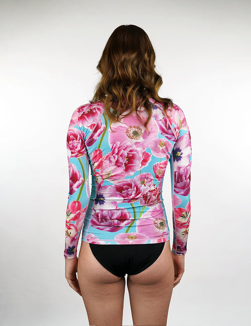 Long Sleeve Rash Vest | Luxe