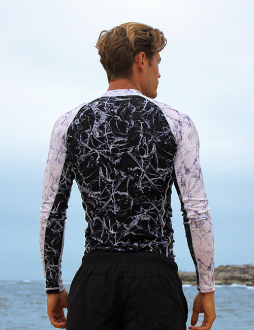 Long Sleeve Rash Vest | Cobalt