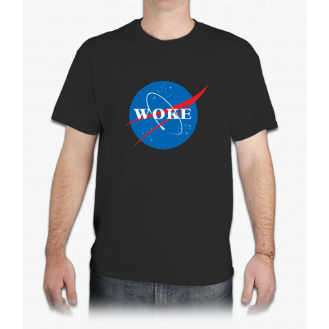 NASA Woke - Mens T-Shirt
