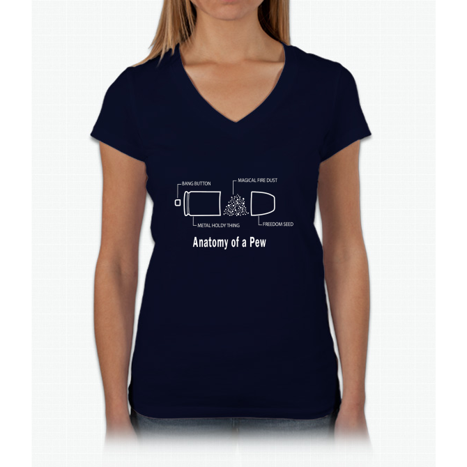 The Anatomy of a Pew Funny T-shirt Geometry Pews Case Womens V-Neck ...