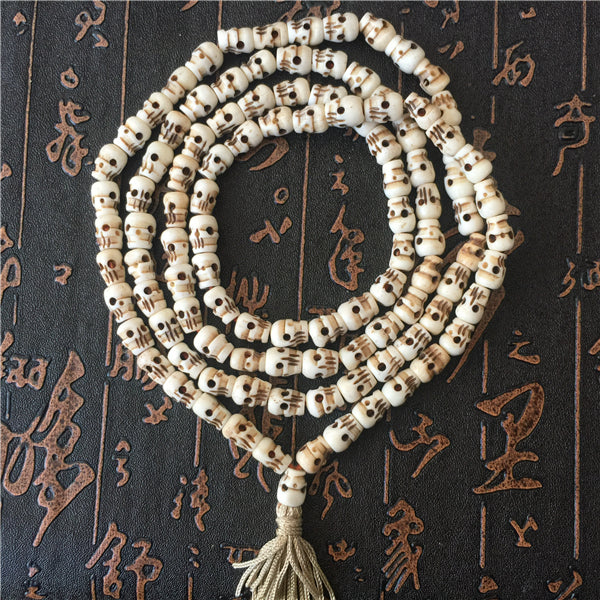 Tibetan Yak Bone 108 Beads Prayer