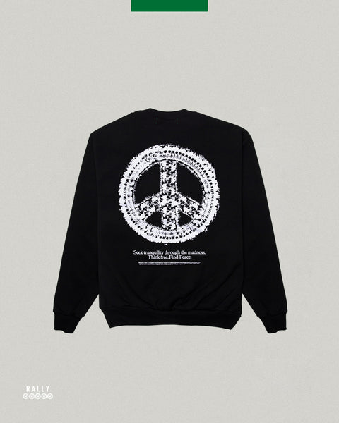Master Peace Crewneck - Black