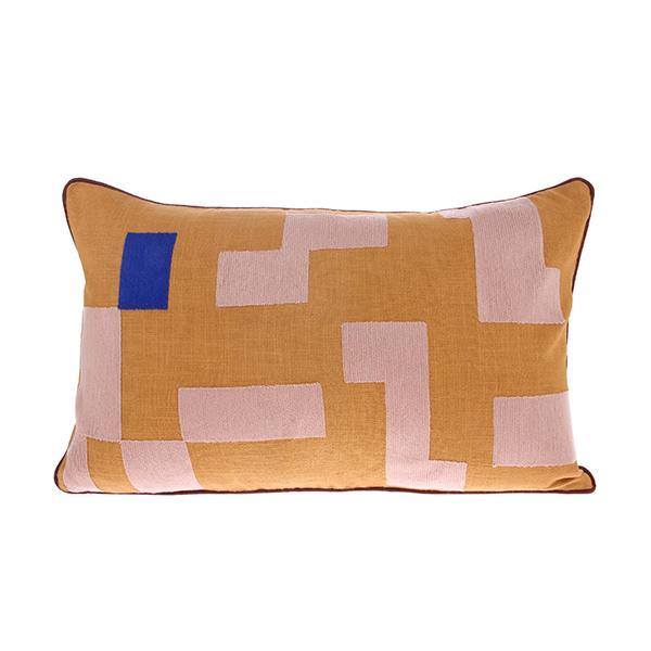 Double-Sided Cushion Stitched Squares
