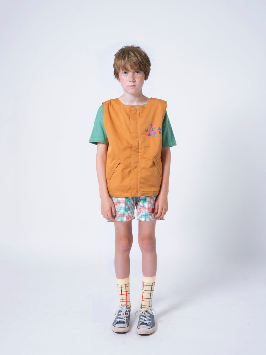 Bobo Choses - Vichy Shorts