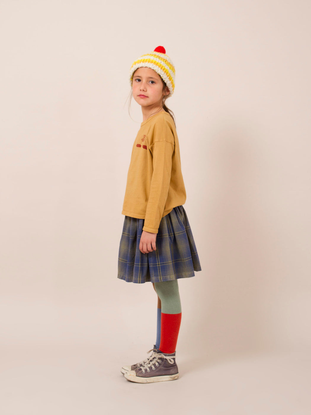 Bobo Choses Rainbow Round Neck T-Shirt