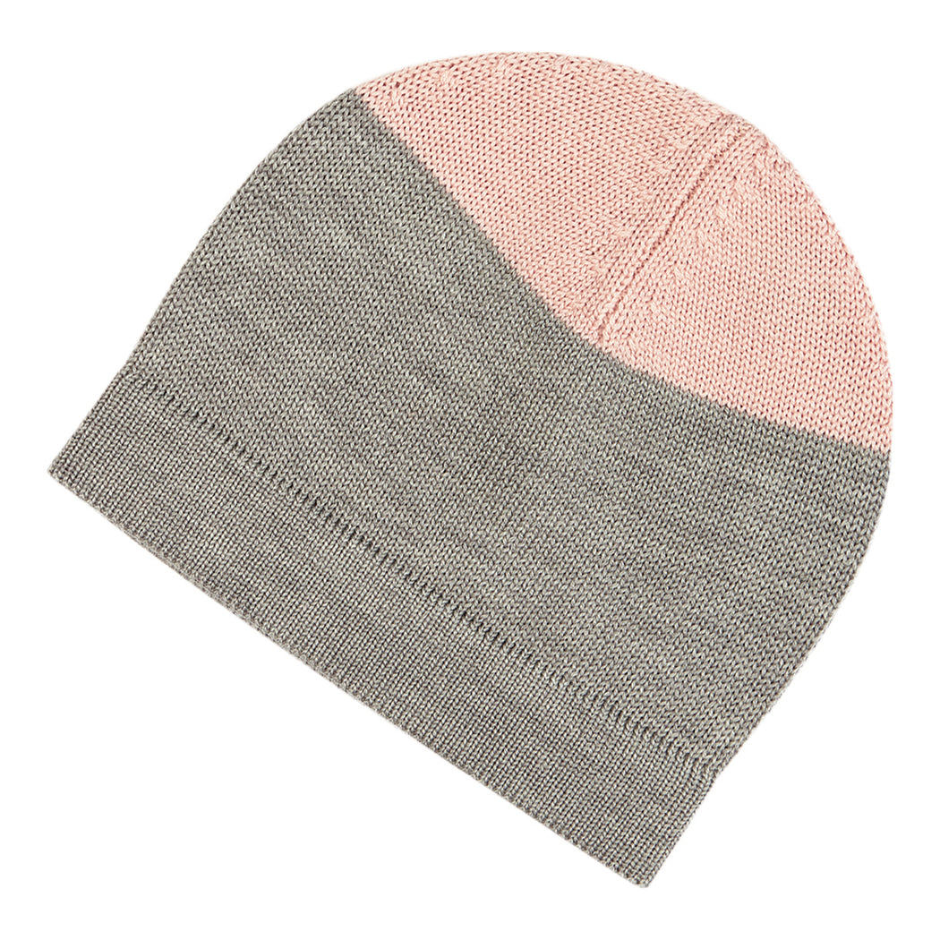 FUB Hat (light grey/rose)