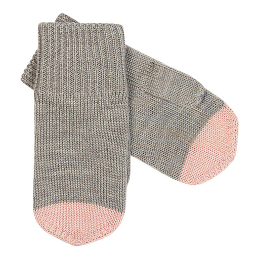 FUB Mittens (light grey/rose)