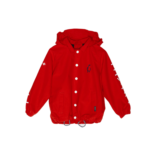 GOSOAKY - WHALE RIDER WATERPROOF JACKET | RED