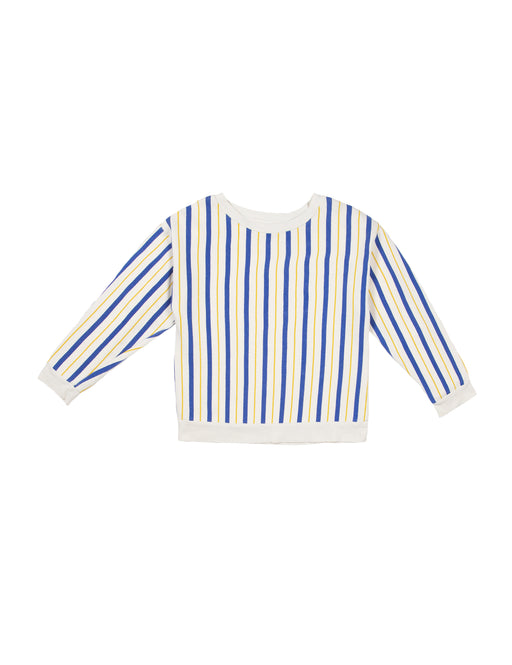 The Campamento - Bicoloured Striped Sweatshirt