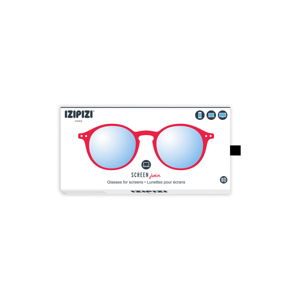 SCREEN GLASSES #D | JUNIOR | RED