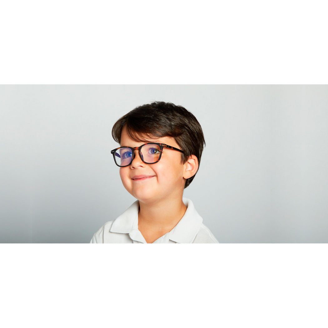 SCREEN GLASSES #E | JUNIOR | TORTOISE
