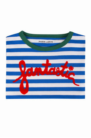Maison Labiche - Striped Tee Fan SS